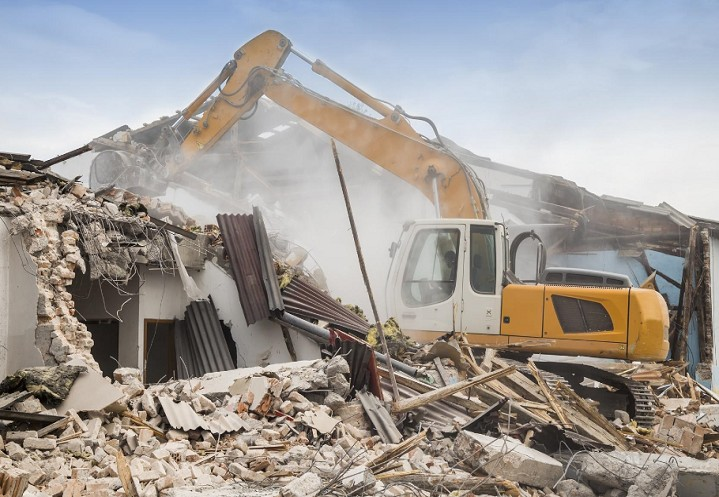 commercial demolition